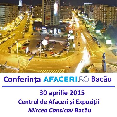 Live blogging – Conferinta Afaceri.ro Bacau, 30 aprilie