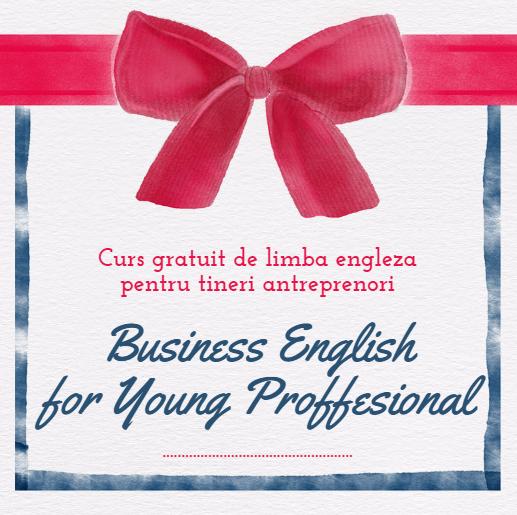 Curs de limba engleză destinat tinerilor antreprenori băcăuani
