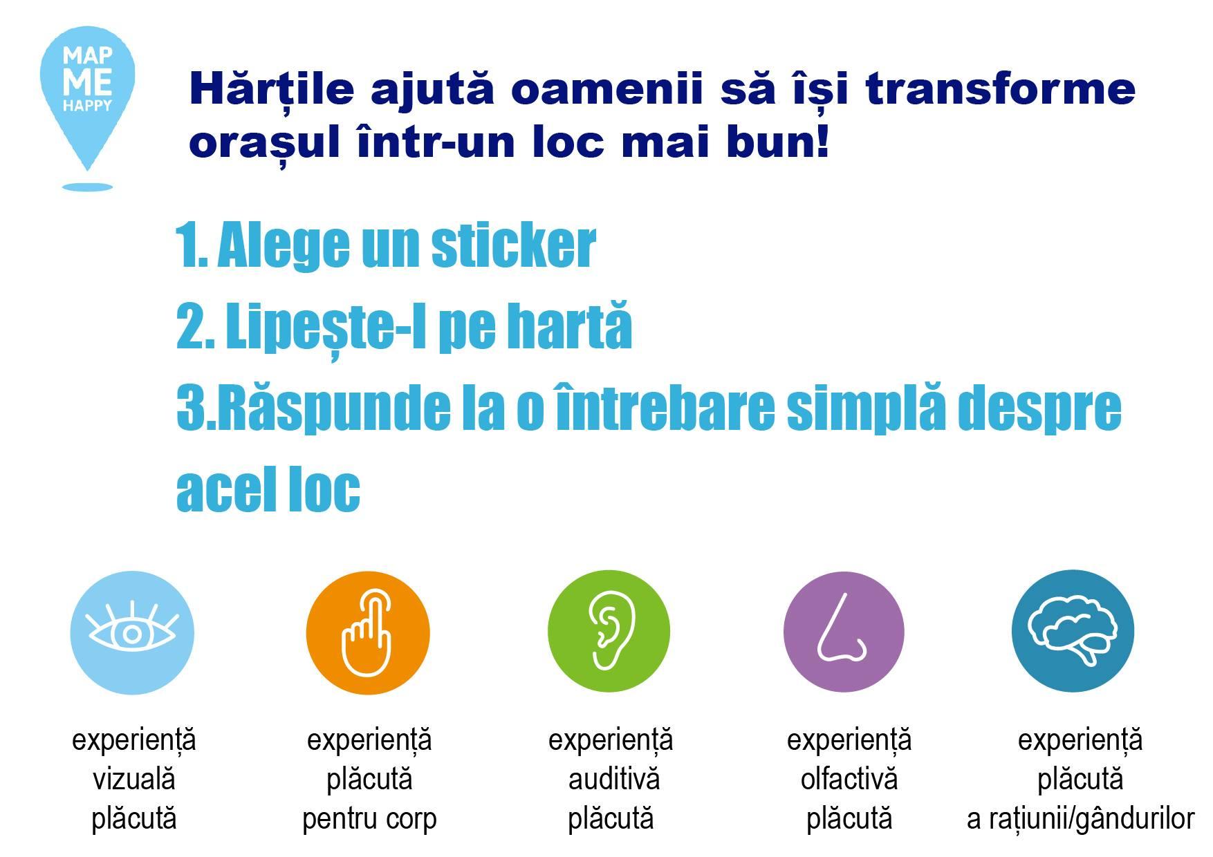 Map me Happy Bacău – participare cetățenească prin cartografierea experiențelor pozitive din municipiul Bacău