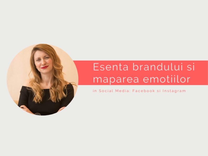 Esenta brandului si maparea emotiilor – curs online