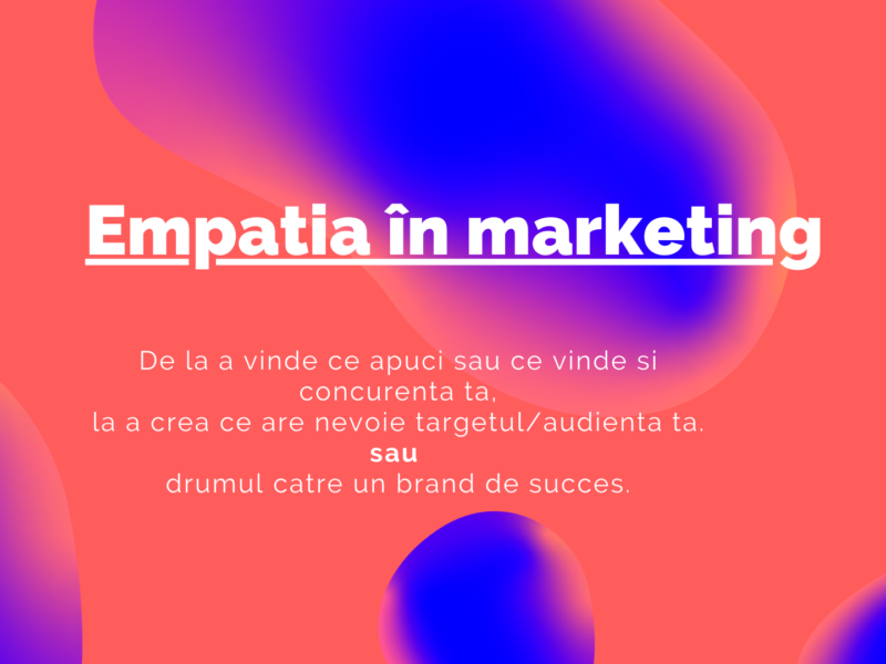 Empatia în marketing