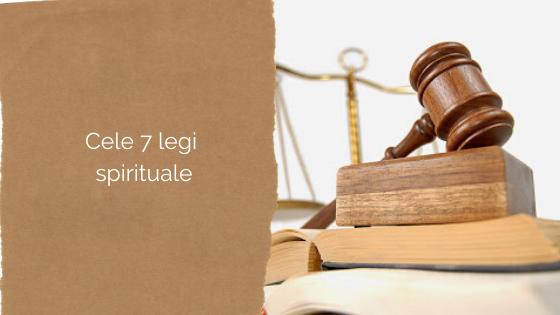 Cele 7 legi spirituale